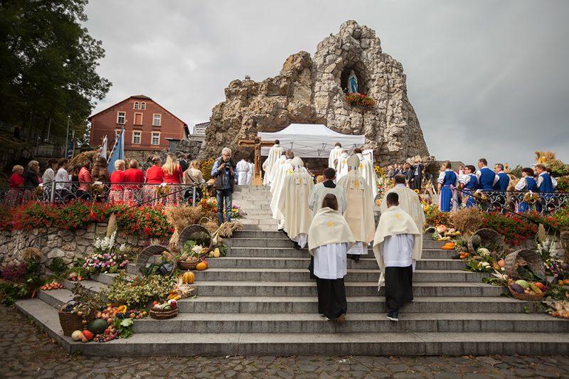 Grota Lurdzka - Dożynki diecezjalne